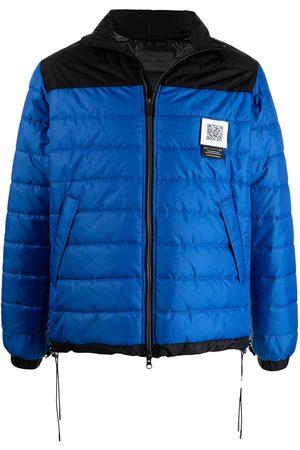 Fumito Ganryu Colour-block puffer jacket
