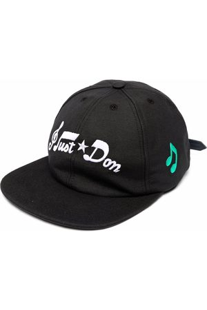 JUST DON Embroidered logo cap