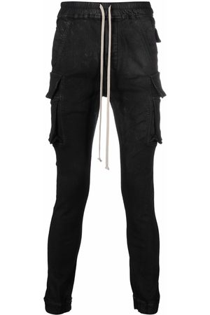 Rick Owens Skinny-fit cargo trousers