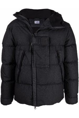C.P. Company Hooded padded down jacket