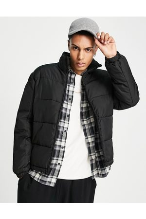 SELECTED Puffer jacket in black