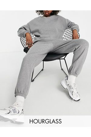 ASOS Hourglass tracksuit ultimate sweat / jogger in charcoal-Grey