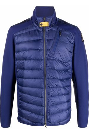 Parajumpers Logo-patch feather-down padded jacket