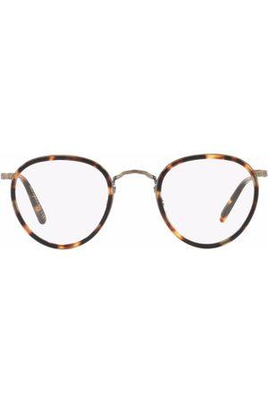 Oliver Peoples MP-2 round tortoiseshell glasses