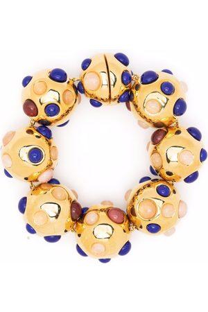 Jil Sander Two-stone bracelet