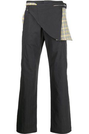 Kiko Kostadinov Harkman panelled straight-leg trousers
