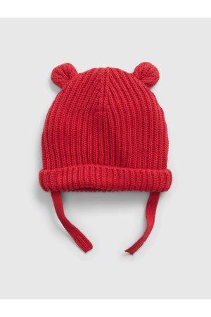 GAP Doplňky - Dětská čepice bear beanie Červená