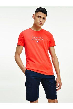 Tommy Hilfiger Muži Trička - Pánské červené triko