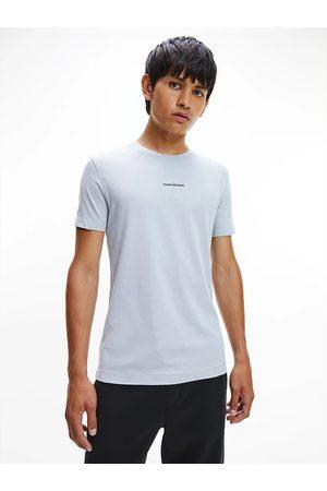 Calvin Klein Muži Trička - Světle modré tričko