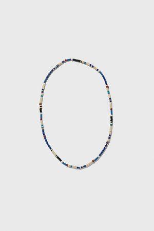 Zara Náhrdelník s modrými kuličkami