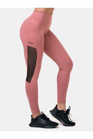 Nebbia Růžové sportovní legíny