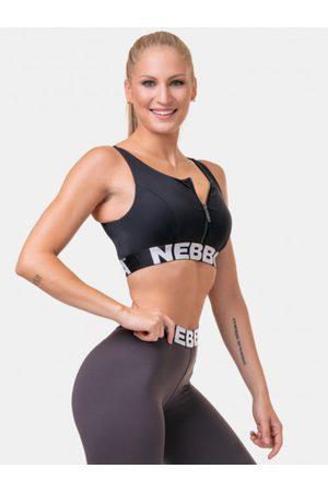 Nebbia Černá sportovní podprsenka