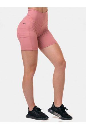 Nebbia Růžové sportovní kraťasy