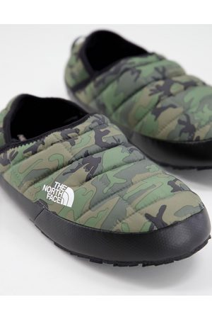 The North Face Thermoball Traction mules in camo-Green