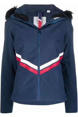 Rossignol Ženy Lyžařská kombinéza - Faux fur-trim ski jacket