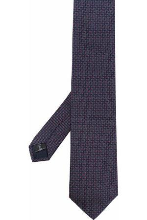 Pal Zileri Geometric-print silk tie