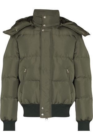Alexander McQueen Hooded padded jacket