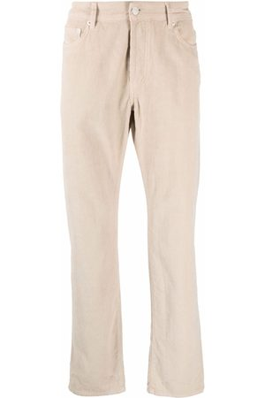OFFICINE GENERALE Corduroy straight trousers