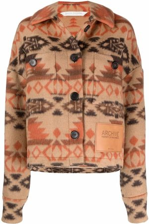 Palm Angels Archive fleece jacket