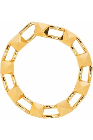 VALENTINO GARAVANI Rockstud chain-link bracelet