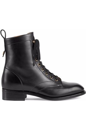 Gucci Lace-up ankle boots