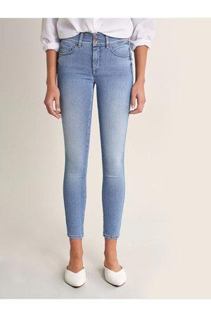 Salsa Ženy Kalhoty - Salsa dámské modré džíny