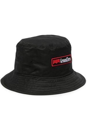 Ground Zero Logo-patch bucket hat