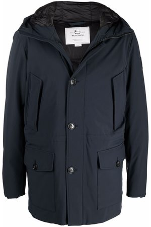 Woolrich Hooded feather-down padded jacket