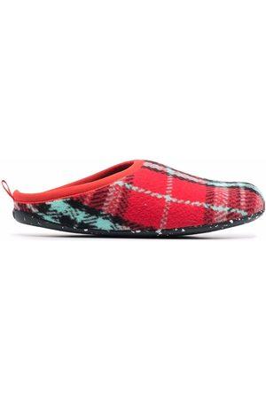 Camper Wabi pattern knitted slippers
