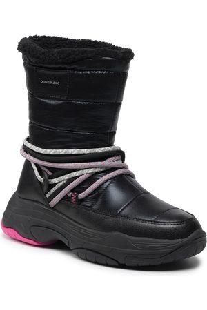Calvin Klein Ženy Šněrovací - Chunky Laceup Sneakerboot YW0YW00471
