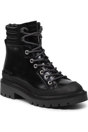 Calvin Klein Combat Mid Laceup Hiking Boot YW0YW00337
