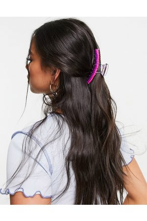 ASOS Hair claw with rubber spikes-Multi