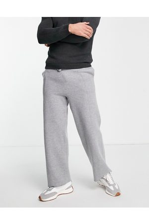 ASOS Wool mix co-ord joggers in grey
