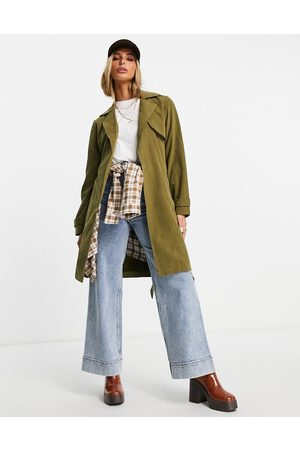 ONLY Trench coat in Green