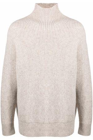 Nanushka High-neck ribbed-knit jumper
