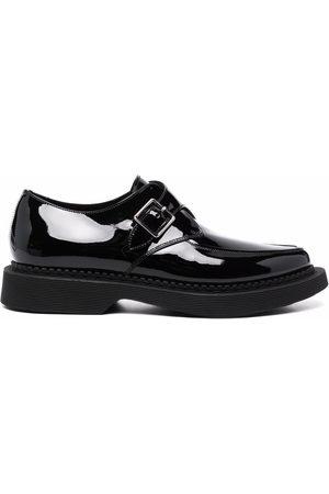 Saint Laurent Leather monk shoes
