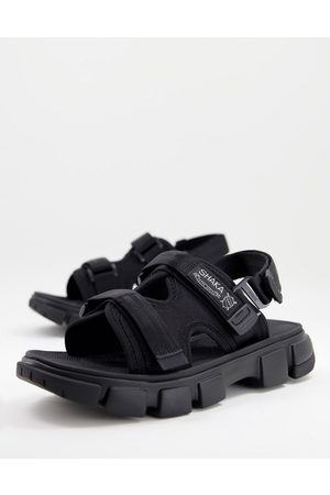 Shaka Chill out sf sandals in black