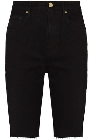 Frame Ženy Bermudy - Le Vintage Bermuda raw-edge shorts