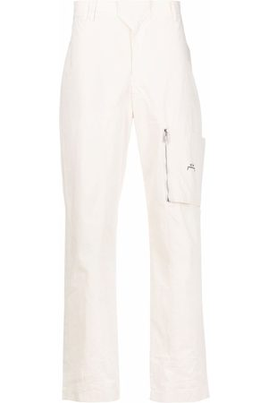 A-cold-wall* Straight-leg cotton trousers