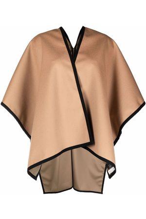 MACKINTOSH Ainsley contrast-trim cape scarf