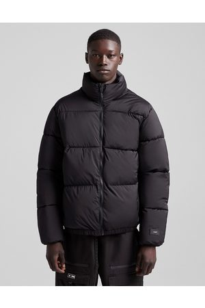 Bershka Puffer jacket in black