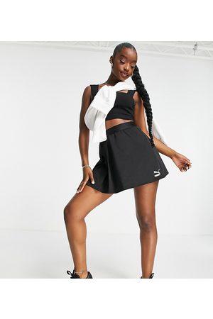 PUMA Classic asymmetric skirt in black