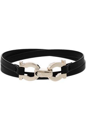 Salvatore Ferragamo Ženy Náramky - Gancini leather bracelet