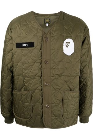 A Bathing Ape Together Strong padded jacket
