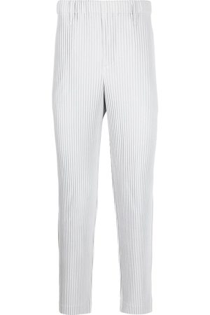 HOMME PLISSÉ ISSEY MIYAKE Pleated straight-leg trousers