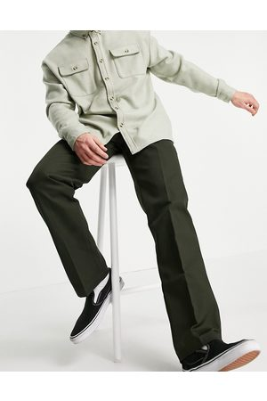 Dickies 873 slim straight fit work trousers in olive green