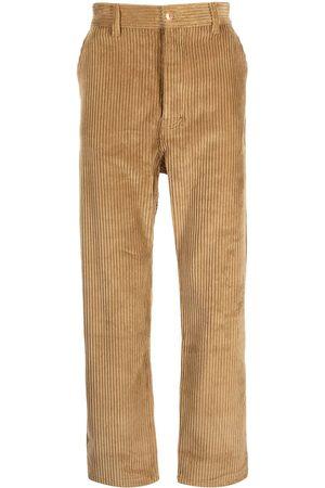 Drôle de Monsieur Muži Rovné nohavice - Corduroy straight-leg trousers