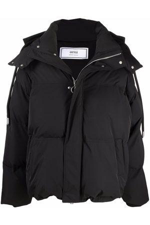 Ami Péřové bundy - Ami de Coeur-patch padded jacket