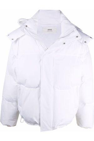 Ami Ami de Coeur-patch padded jacket