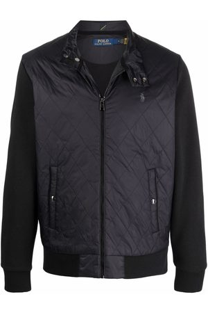 Polo Ralph Lauren Padded panelled zip-up jacket